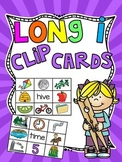Long I Silent E Clip Cards Center Games