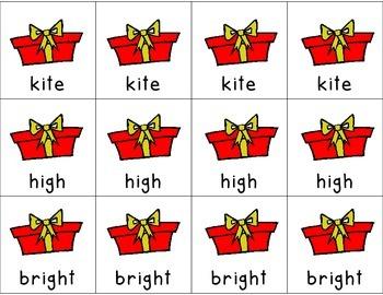 Long 'I' Digraph Literacy Center Games