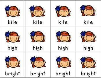 Long 'I' Digraph Literacy Center Games for Common Core