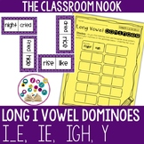 Long Vowel Dominoes: Long I (ie, i_e, y, igh)
