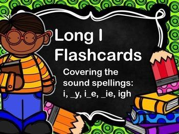 Long I Flashcards