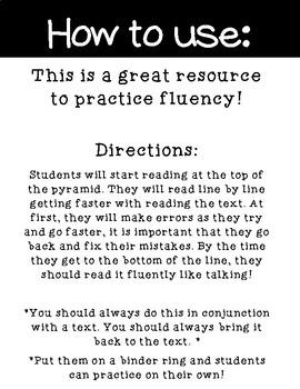 Long I Fluency Cards