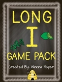 Long I Word Work Game Pack