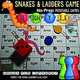 Long I Game: Snakes and Ladders (i_e, ie, ight, y sounds like i)