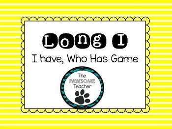 Long I: I Have Who Has