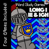 Long I: IE IGH [[Word Family GAMES!]]