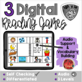 Long I IGH, IE, Y:  Digital Reading Activities - Distance