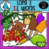 Long I: I_E Words Clip Art Set - Chirp Graphics