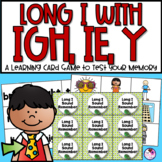 Long I Memory Game With IGH, IE, Y as an I, CVCe Long I