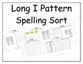 Long I Pattern Spelling Packet 1 and 2