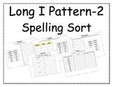 Long I Pattern Spelling Packet 2