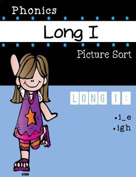 Long I Phonics Picture Sort