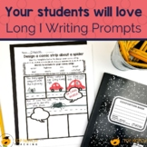 Long I Phonics Writing Prompts | Guided Writing for Long I Words