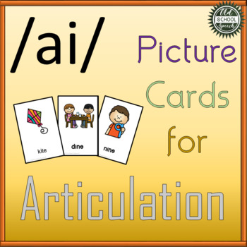 Long I Picture Cards for Articulation