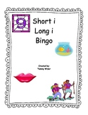 Long I Short I Bingo Game