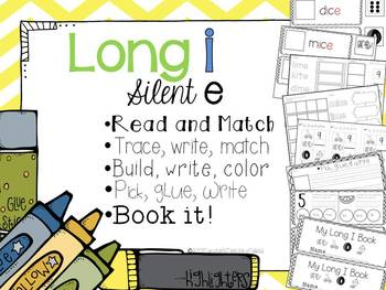 Long I Silent E- 5 interactive activities