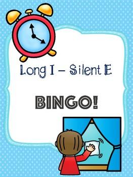 Long I - Silent E Bingo [10 playing cards]