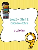 Long I - Silent E Color-By-Picture
