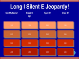 Long I - Silent E Jeopardy!