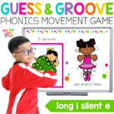 Long I Silent E Movement Game for Google (TM) and PowerPoi