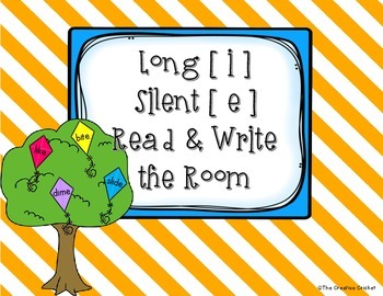 Long I (Silent E) Read and Write the Room / Word Sort