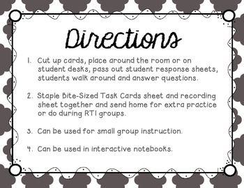 Long I (Silent E) Tiny Task Cards