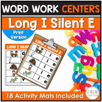 Long I Silent E Word Family Center