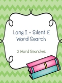 Long I - Silent E Word Searches