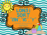 Long I Sort (IGH, IE and Y) {Summer Theme}