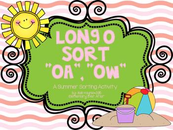 Long O Sort (OA and OW) {Summer Theme}