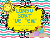 Long U Sort (UE and EW) {Summer Theme}