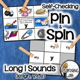 Long I Sounds (ie, y, igh, i_e) - Self-Checking Phonics Centers
