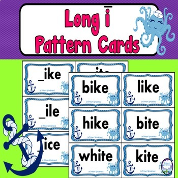 Long I Word Sort Cards
