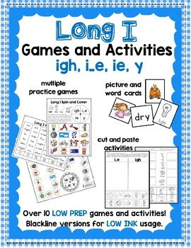 Long I Games and Activities