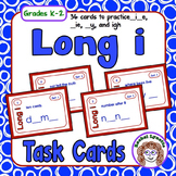 Long I Task Cards: 36 cards to practice i__e, __ie, __y, and igh