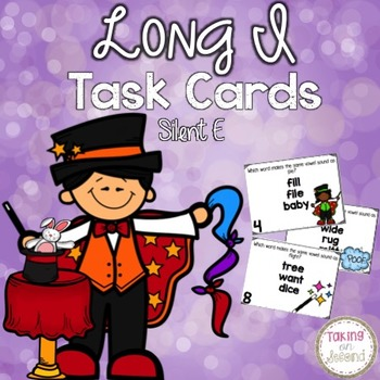 Long I Task Cards with Silent E