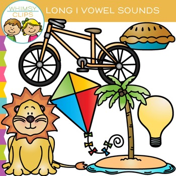 Long I Vowel Clip Art