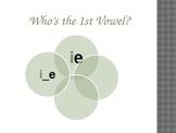 Long I Vowel Pattern Chant