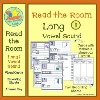 Read the Room Alphabet Long Vowel I