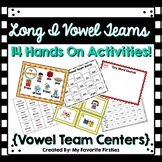 Long I Vowel Team Centers Word Work