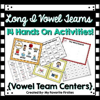 Long I Vowel Team Word Work Centers
