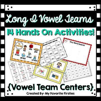 Long I Vowel Team Centers/Word Work