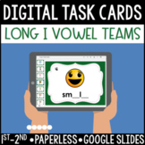 Long I Vowel Team Digital Task Cards