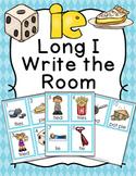 Long I Vowel Team ie Write the Room