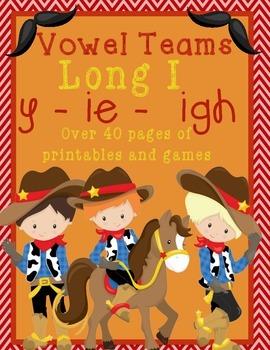 Long I Vowel Teams