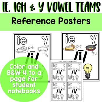 Long I Vowel Teams: Reading, Writing, Sorting and More!