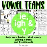 Long ie, igh, y Spelling Patterns: Activities, Worksheets, Read, Write & Sort