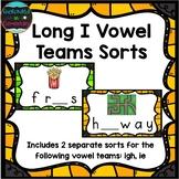 Long I Vowel Teams Sort