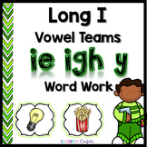 Long I Vowel Teams Word Work Packet