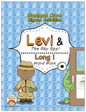 Long I Vowel Word Work: Levi and The Shy Spy! (Common Core Aligned)